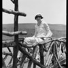 Dorothy Sinclair at Del Mar, CA, 1926