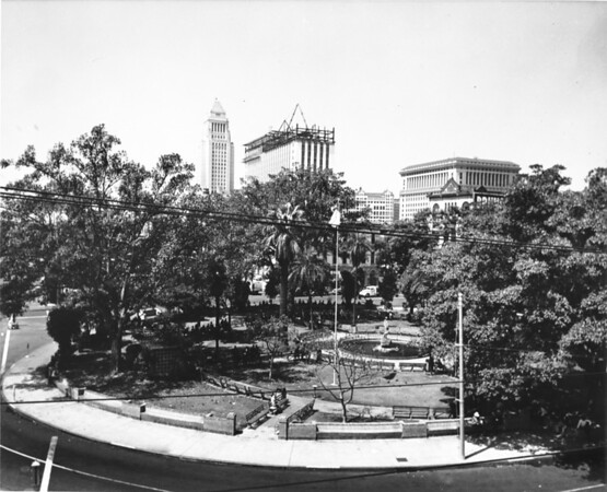 Photo of Brunswig Square in downtown Los Angeles