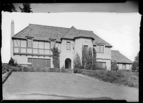 1853 North Vista Street, Los Angeles, CA, 1926