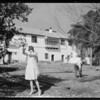 Georgia Brazell at Gainsborough Heath, Southern California, 1928