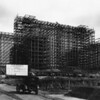Construction of the Los Angeles County Hospital on State Street in east Los Angeles