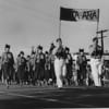 American Legion parade, Long Beach, delegation from Santa Ana, California