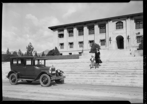 Chevrolet at Citrus Experiment-Station, University of California, Riverside, Riverside, CA, 1926