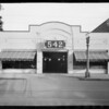 Garage at 542 South Figueroa Street, Los Angeles, CA, 1926