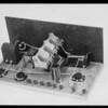 Retake on radio panel, National Automotive School, Southern California, 1930