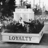 The Loyalty float of Post 431 in the American Legion Parade