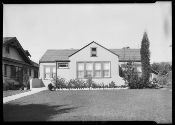 5723 Huntington Drive, Southern California, 1926