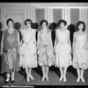 Fashion show, Broadway Department Store, Los Angeles, CA, 1926