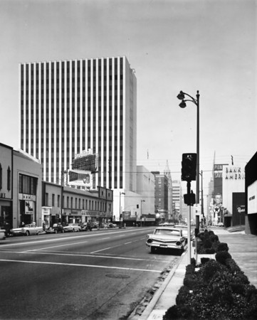 Pacific Indemnity Building at the corner of Wilshire Boulevard and Vermont Avenue