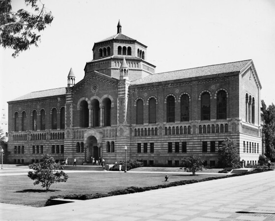 College library on the University of California at Los Angeles (UCLA) Campus in Westwood