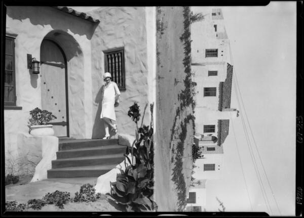 Dorothy Sinclair at Del Mar, CA, 1926