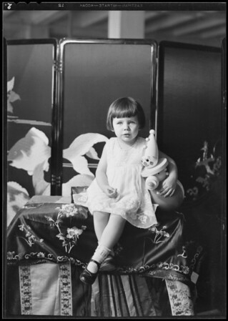 Child, May Co., Southern California, 1930
