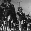American Legion parade, Long Beach, bugle corps members