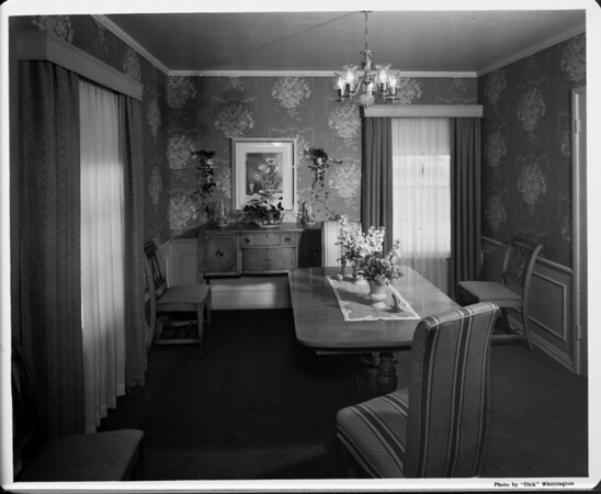 Home interior of 1948, dining area