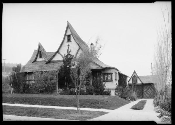 4124 Elliott Street, Southern California, 1926
