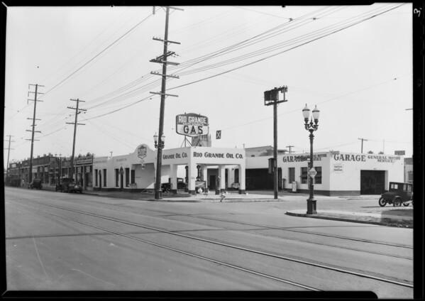 Station at 5136 Santa Monica Boulevard, Los Angeles, CA, 1929