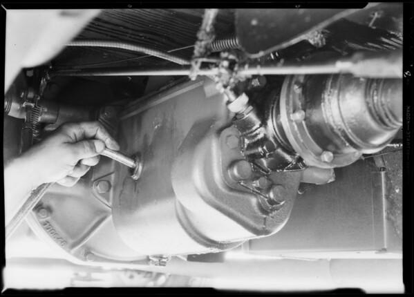 Studebaker Free Wheeling lubrication, Union Oil Co., Southern California, 1931