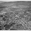 Aerial view, Sun Valley, San Fernando Road, Sunland Boulevard, Glenoaks Boulevard