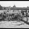 Swimming class, Griffith Park pool, Los Angeles, CA, 1931