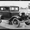 Ford sedan, Southern California, 1931