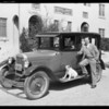Mr. Gilfoyle and Chevrolet, Southern California, 1927