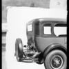 Studebaker & trunk rack, Southern California, 1926