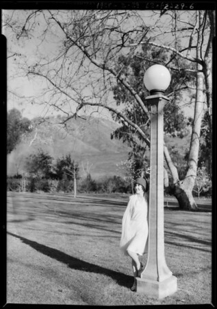 Georgia Brazell at Gainsborough Heath, Southern California, 1928