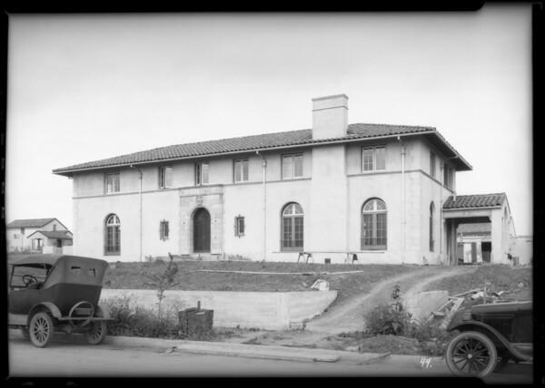 Lockwood Shackleford, Southern California, 1925