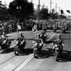American Legion parade, California Highway Patrol motorcycles