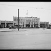 Exterior of 9th Street store,  Southern California, 1931