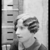 Permanent waves in girl's hair, Madame Helene, Southern California, 1927