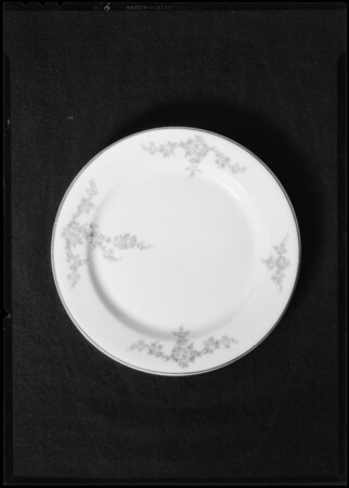 Dishes, Southern California, 1931