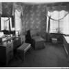 Home interior of 1948, bedroom