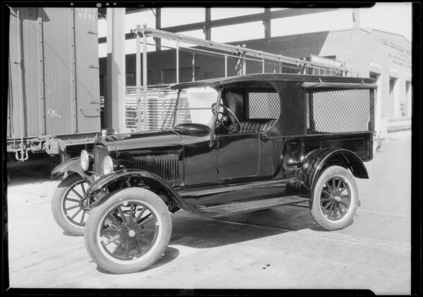 Ford truck, O.W. Dolph Co., Southern California, 1928