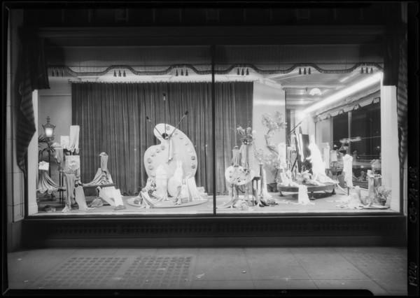 Paint & pallet windows, J. W. Robinson Co., Southern California, 1926