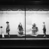 Sportswear & bathing suit windows, J.W. Robinson, Southern California, 1927
