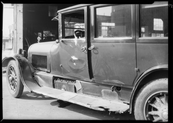 Cadillac, Wilshire Oil Co., Union Indemnity Co., Southern California, 1931