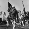 American Legion parade, Long Beach, wounded veteran