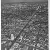 Looking east down Wilshire Boulevard from La Brea Avenue