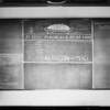 March blackboard, Southern California, 1927