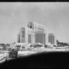New County Hospital from old building, Los Angeles, CA, 1931