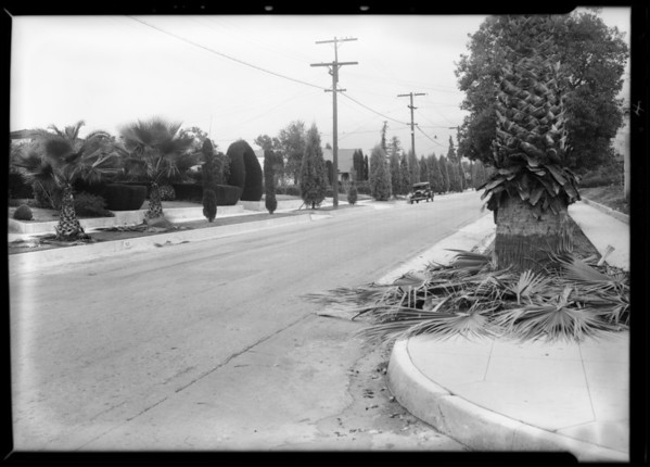 Intersection at East Howard Street and North Mar Vista Avenue, Pasadena, CA, 1931