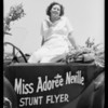 National Air Races, Miss Adoree Neville, Southern California, 1933