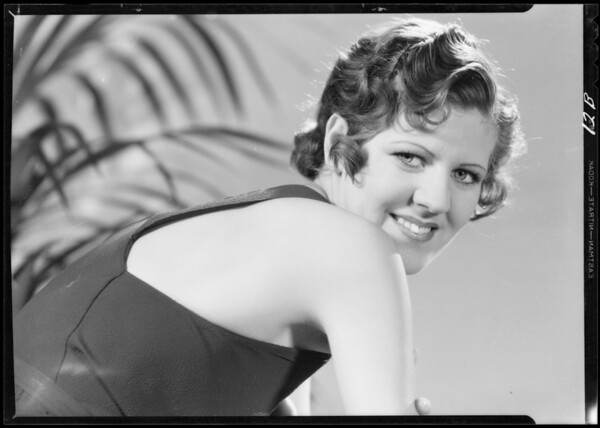 Portrait of Polly Hanna, Southern California, 1933