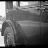 1927 Dodge sedan - Taemako, owner & assured, Southern California, 1933