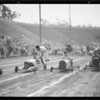 Push car race at Gilmore Stadium, Los Angeles, CA, 1935