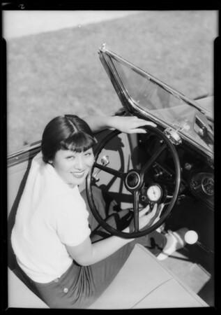 Tsahi Mori (Japanese girl), Southern California, 1933