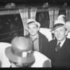 Bird expedition men return, Southern California, 1934