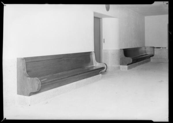 Construction of new homes, Lido Isle, Newport Beach, CA, 1932 [image 1]