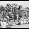 Circus at South Park playground, Southern California, 1931
